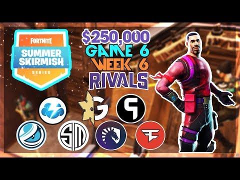$250,000 🥊Rivals Summer Skirmish🥊 Week 6 Game 6 (Fortnite)