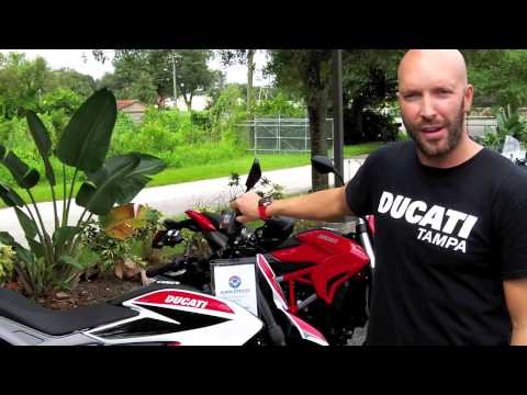 2013 Ducati Hypermotard SP Delivery at Euro Cycles of Tampa Bay