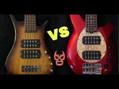 Warwick $$ Double Buck  VS  Music Man Bongo Bass