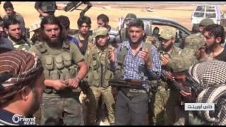 اورينت نيوز ترافق الثوار أثناء السيطرة على قرية تل حسين بريف حلب