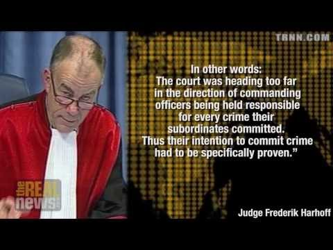 Danish Judge Frederik Harhoff Reveals a Dangerous Trend in the ICTY