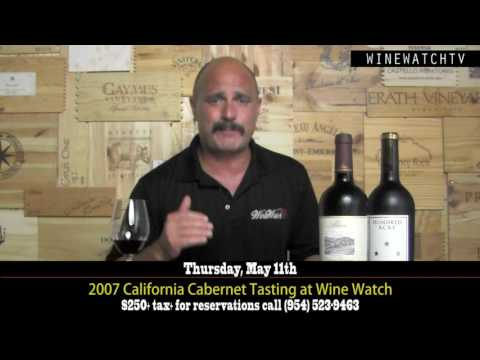 What I Drank Yesterday 2007 California Cab - click image for video