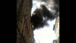 Fire @ 628 Broadway, NYC