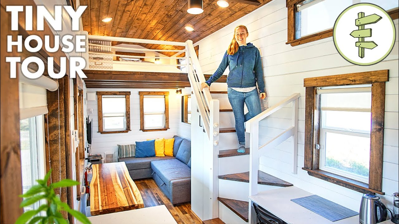 Beautiful Tiny House With Ious