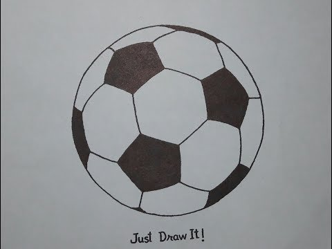 How To Draw A Football Step By Step