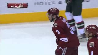 Keith Yandle fluke goal on Niklas Backstrom Feb 28 2013