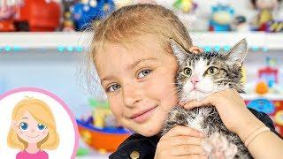 ЧТО БУДЕТ ЕСЛИ ВЫМЫТЬ КОШКУ - Маленькая Вера - Учимся ухаживать за котёнком