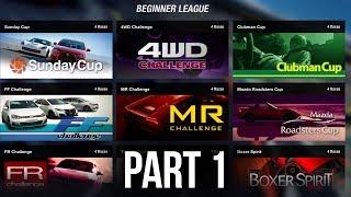 Gran Turismo Sport Career Mode Gameplay Walkthrough Part 1 - SUNDAY CUP (GT League)