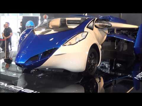 Aeromobil flying car Top Marques 2015