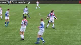 Spakenburg jo17-1 vs ASC Nieuwland jo17-1 op 24-11-19