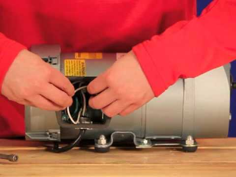 septic solutions� gast rotary vane air pump installation tutorial Bodine Electric Motor Wiring Diagram