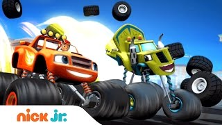 Blaze and the Monster Machines Latino América | Official Theme Song (Music) | Nick Jr.