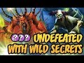 Hearthstone: Undefeated With Wild Secrets