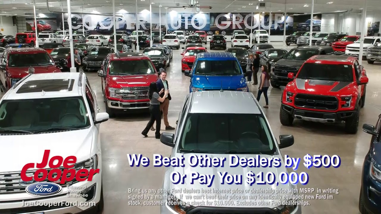 Joe Cooper Ford Shawnee >> Best Ford Prices In Oklahoma Truck Tradin Time Joe Cooper Ford Shawnee