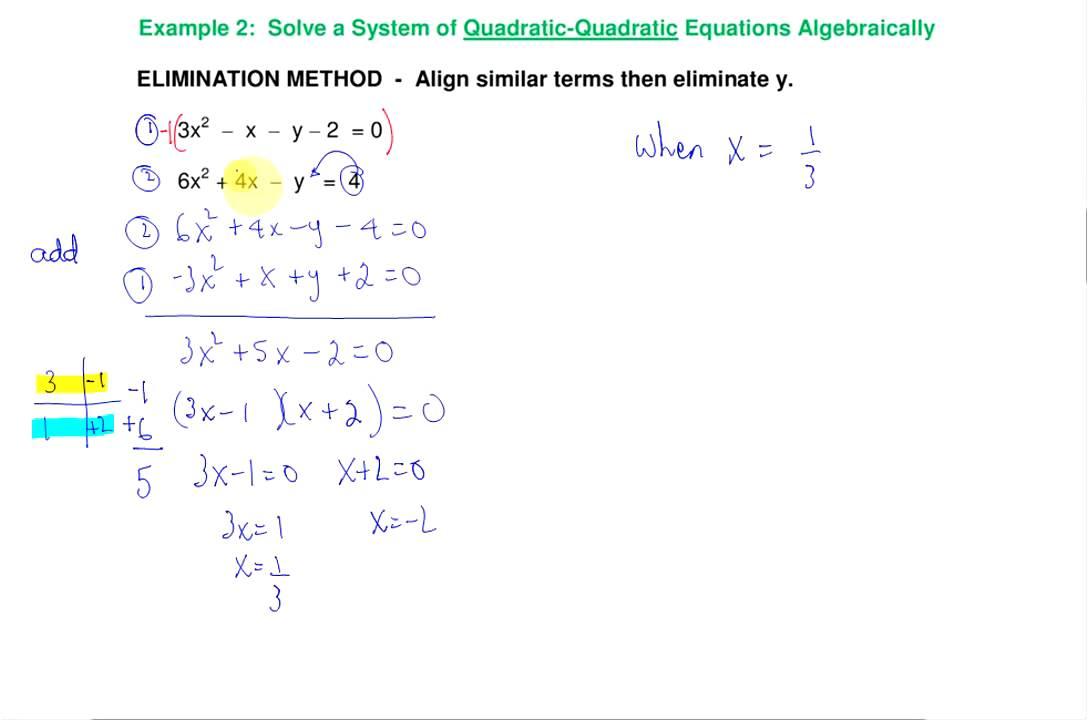 Solve System Of Equations Algebraically Tessshebaylo – Solving Systems of Equations Algebraically Worksheet