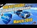 Rocket League Fashion Tournament - Winter Theme - March 2019