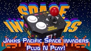 Jakks Pacific Space Invaders Plug N Play!