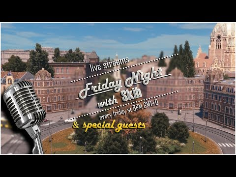 #45 Friday Night with Skib playing Cities Skylines | Special Guests: Mr.Miyagi & LeaderOfTheMonkeys