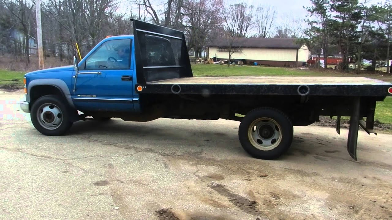 1999 chevy 3500 hd stake truck for sale online auction