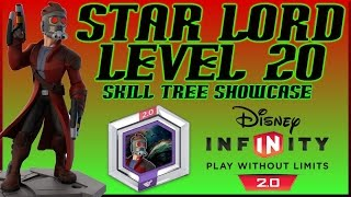Disney Infinity 2.0 Star Lord Level 20 Skill Tree Showcase - Star Lord By DisneyToyCollector