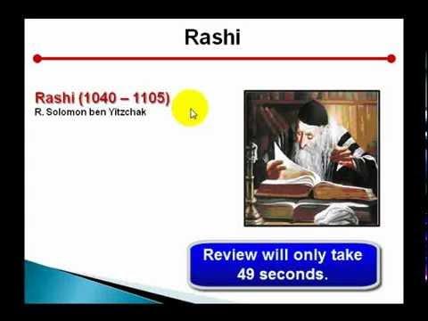 Crash Course in Jewish History - Session 16: Rashi, Maimonides and more