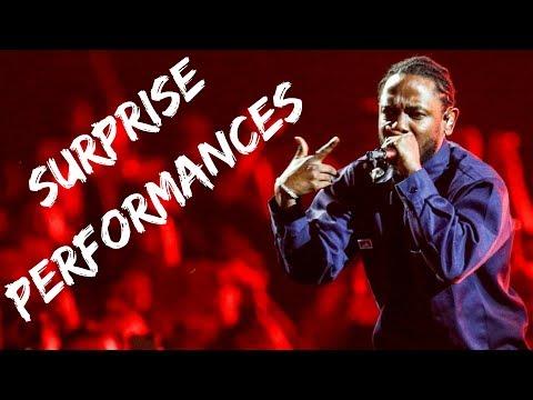 Rappers Make Surprise Performances Compilation Part 1 (Kendr