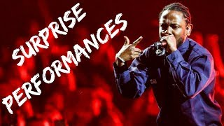 Rappers Make Surprise Performances Compilation Part 1 (Kendrick, Kanye, Drake & MORE)