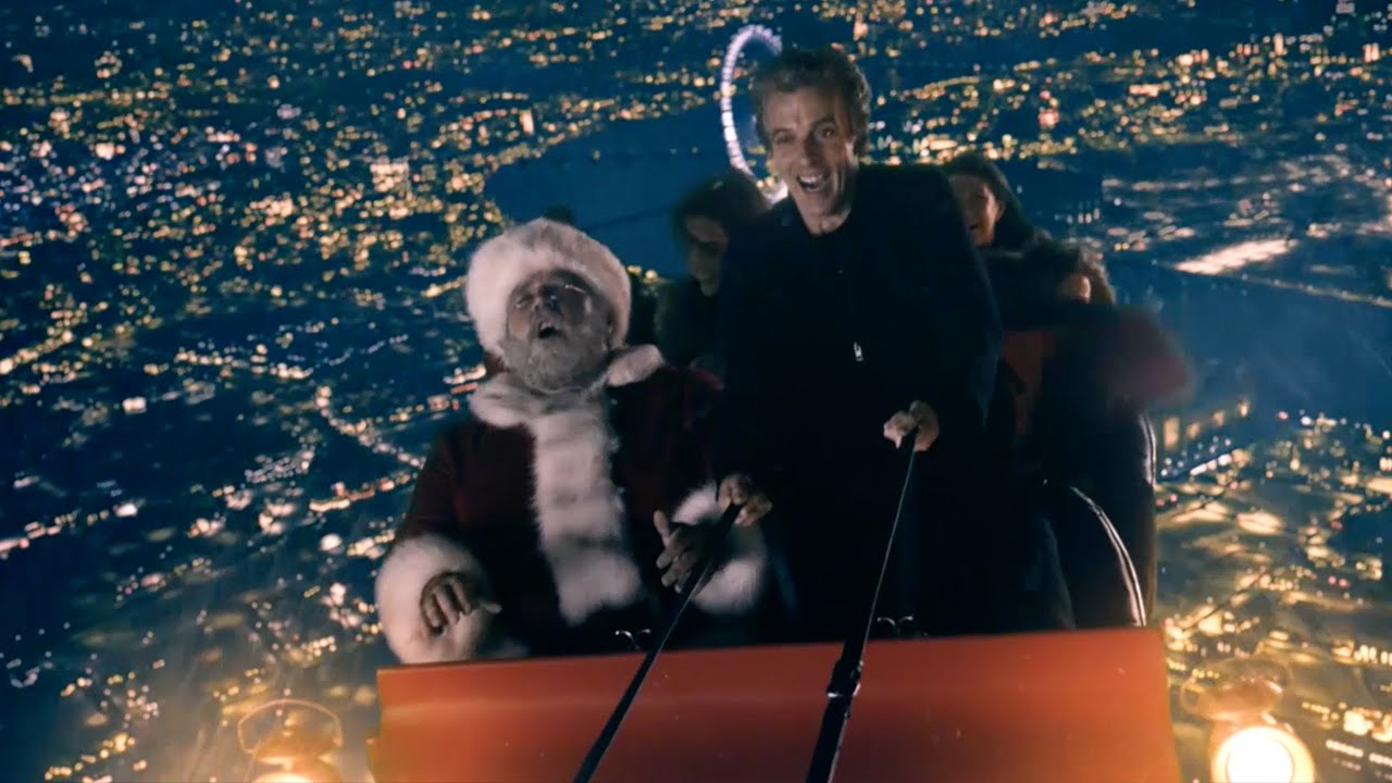 Last Christmas Doctor Who.The Doctor S Sleigh Ride Last Christmas Doctor Who Bbc