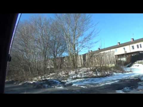 Vožnja kroz SÖDERTÄLJE (Švedska) br.1 klip br.6.