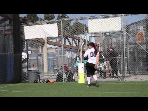 Desiree Medina softball college recruiting video