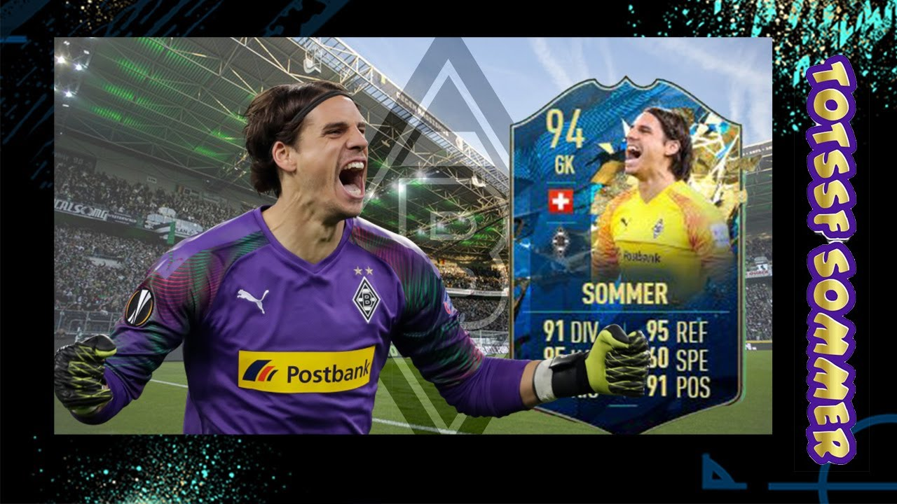 94 Rated Tots Sf Yann Sommer Player Review Better Than Neuer Fifa 20 Ultimate Team Youtube