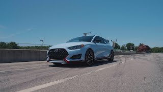 homepage tile video photo for Hyundai Veloster N at Lightning Lap 2019