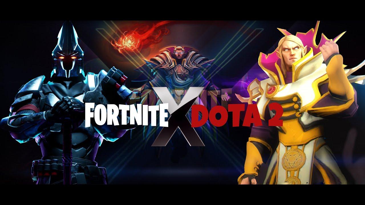 Fortnite X Dota 2 Trailer - Shezzy - YouTube
