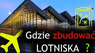 Planned and existing airports in Poland | Central Airport Poland 2035