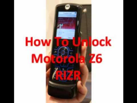 Motorola Z6 RIZR