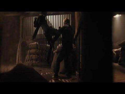 Skin Trade (2015) Tony Jaa vs Dolph Lundgren