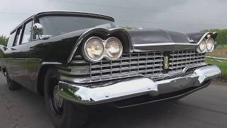 1959 Plymouth Suburban Station Wagon - Big Fin Era