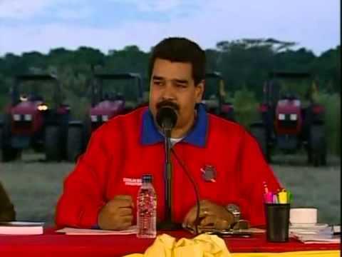 Evento completo de Nicolás Maduro con campesinos de Cojedes, 10 de enero 2014