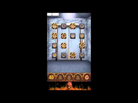 100 Doors Hell Prison Escape Level 43 - Walkthrough