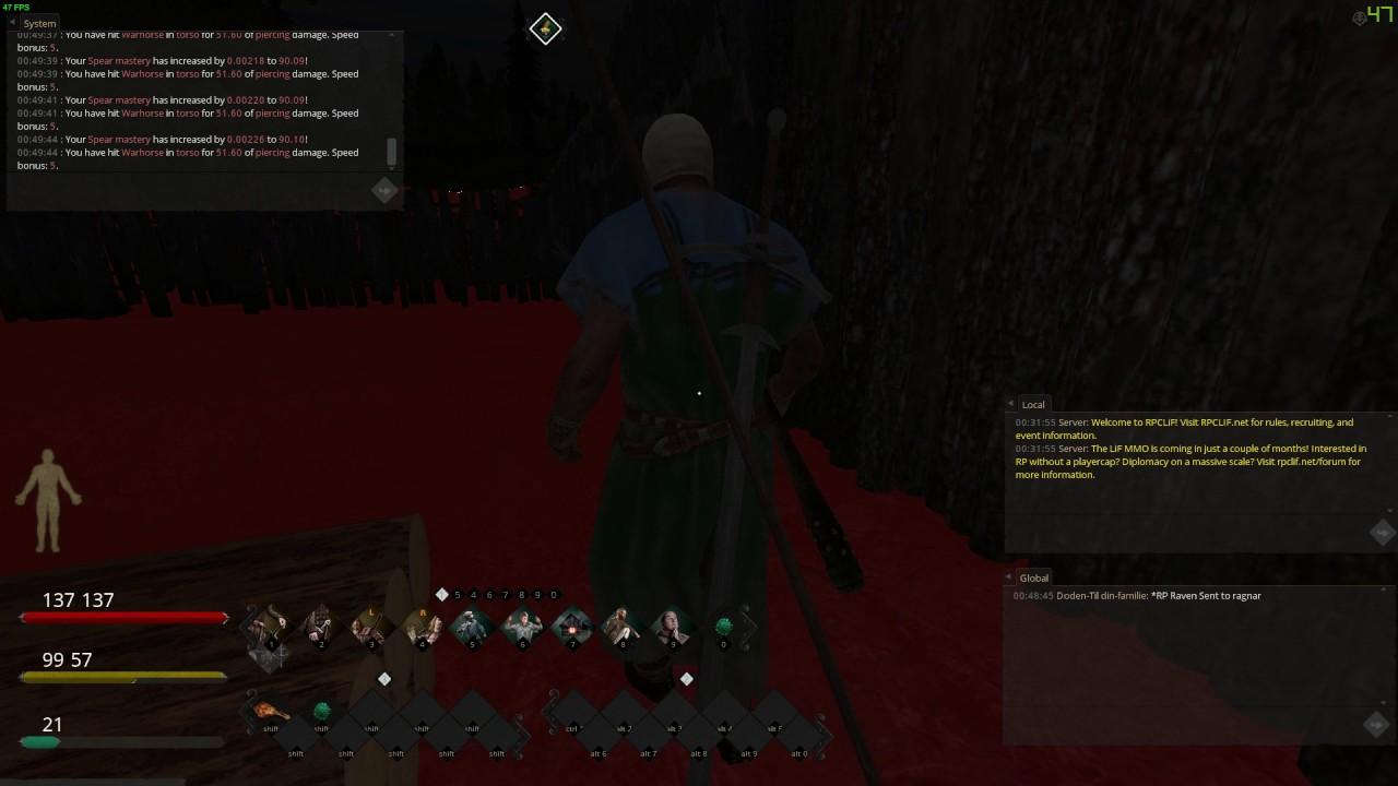Spear mastery life is feudal франция 1627 ролевая игра
