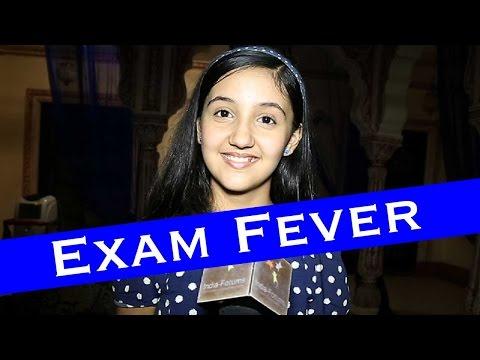 Ashnoor Kaur talks about her half yearly exams...