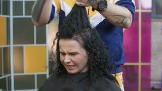 Łukasz nie miał lekko strzygąc jej włosy! [Druga Twarz]
