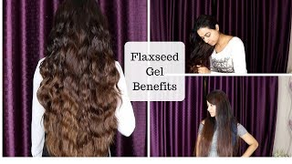 How to use Flaxseed gel For Long, Shiny & Lustrous Hair | NO Frizzy Hair