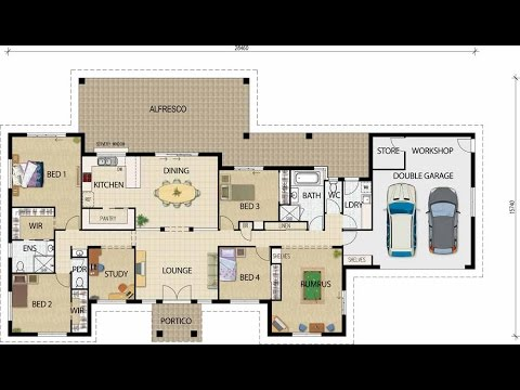 House Plans House Plans With Guest House YouTube