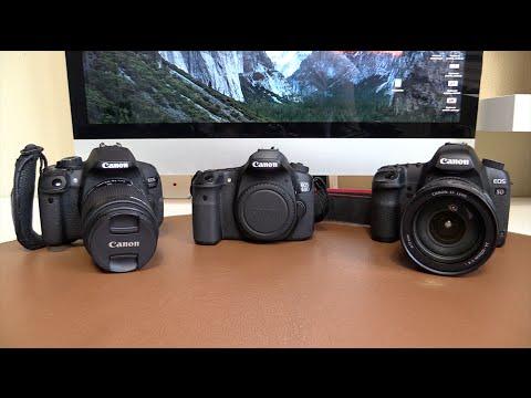 Canon EOS 700D (T5i) vs 60D vs 5D MkII | Comparativa