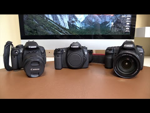 Canon Eos 700d T5i Vs 60d Vs 5d Mkii Comparativa Youtube