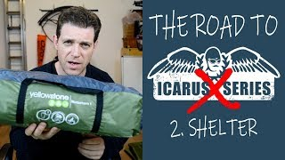 Road to Icarus Ep 2 - SHELTER, Paracamping, Vol-Biv