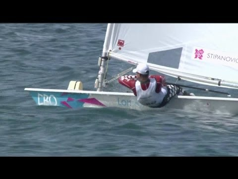 Tom Slingsby (AUS) Wins Men's Laser Sailing Gold - London 2012 Olympics