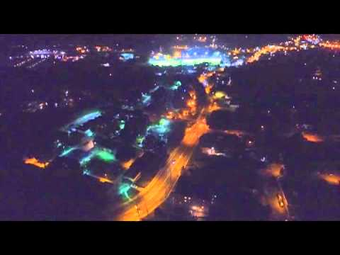 DJI Phantom 3 pro UAV night eyes in the sky