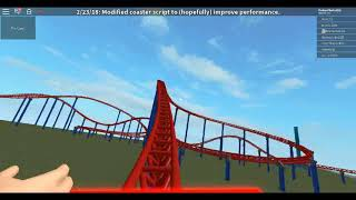 Superman The Ride Six Flags New England in Roblox